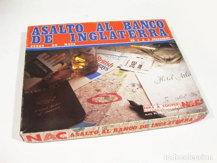 JUEGO DE ESTRATEGIA NAC - ASALTO AL BANCO DE INGLATERRA (Juguetes - Rol y Estrategia - Otros)