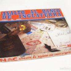 Juegos Antiguos: JUEGO DE ESTRATEGIA NAC - ASALTO AL BANCO DE INGLATERRA. Lote 141255822