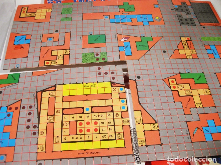 Juegos Antiguos: JUEGO DE ESTRATEGIA NAC - ASALTO AL BANCO DE INGLATERRA - Foto 4 - 141255822