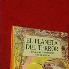 Juegos Antiguos: EL PLANETA DEL TERROR - BURDTON & A. GRAHAM - ED. EDICIONES B - CARTONE. Lote 141614106