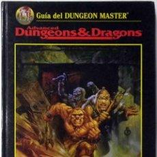 Juegos Antiguos: GUÍA DEL DUNGEON MASTER - ADVANCED DUNGEONS & DRAGONS. Lote 142213334