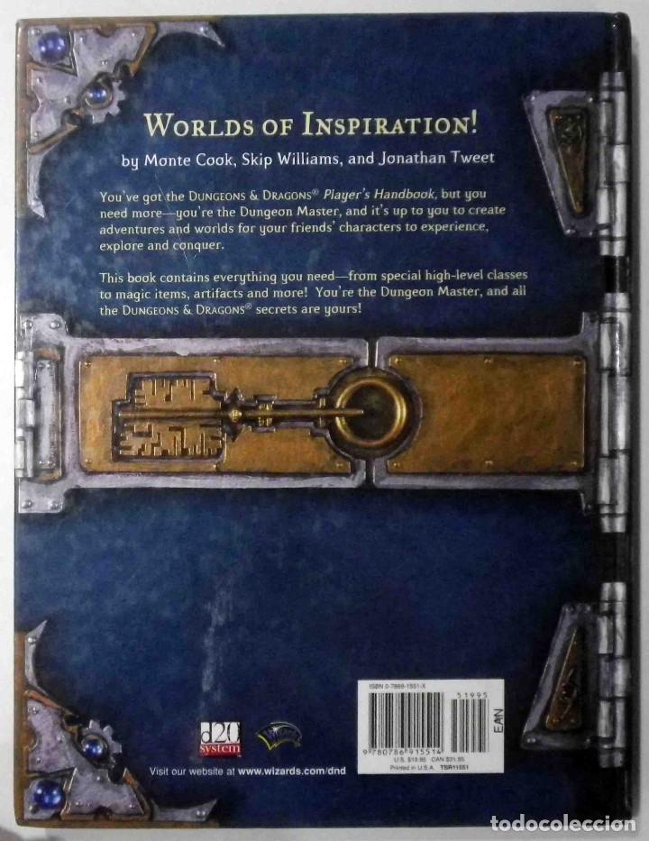 Juegos Antiguos: Dungeon Master's Guide - Core Libro de reglas II - Dungeons & Dragons - Impecable - Foto 2 - 142213526