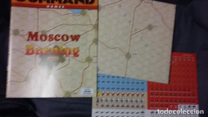 Juegos Antiguos: Wargame revista Command: Buena vista y Moscow burning - Foto 5 - 49196616