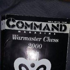 Juegos Antiguos: WARGAME WARMASTER CHESS 2000. REVISTA COMMAND. Lote 143195922