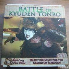Juegos Antiguos: BATTLE OF KYUDEN TONBO , JUEGO DE CARTAS EN INGLÉS. Lote 143467690