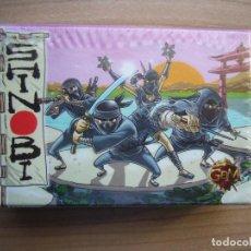 Juegos Antiguos: SHINOBI EL GRAN DAIMIO ... CAJA PEQUEÑA. Lote 143473046