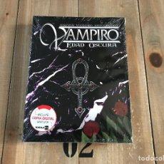 Juegos Antiguos: VAMPIRO EDAD OSCURA - BÁSICO EDICIÓN BOLSILLO - JUEGO DE ROL - NOSOLOROL - 20 ANIVERSARIO - VEO20. Lote 143660298