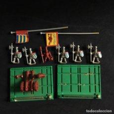 Juegos Antiguos: BATTLE MASTERS MB ARTILLERIA IMPERIAL Y GUARDIA DE LA CIUDAD DE ALTDORF FIGURAS GRAN JUEGO GUERRA. Lote 143686474