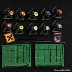 Juegos Antiguos: BATTLE MASTERS MB MATONES SKABLOOK SALTEADORES GRITLLUNG ORCS GRAN JUEGO GUERRA FIGURAS. Lote 143687814