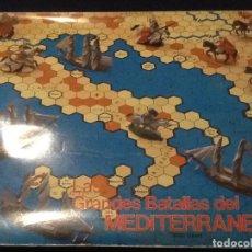 Juegos Antiguos: JUEGO DE MESA/WAR GAME/LAS GRANDES BATALLAS DEL MEDITERRANEO COMPLETO. Lote 144135826