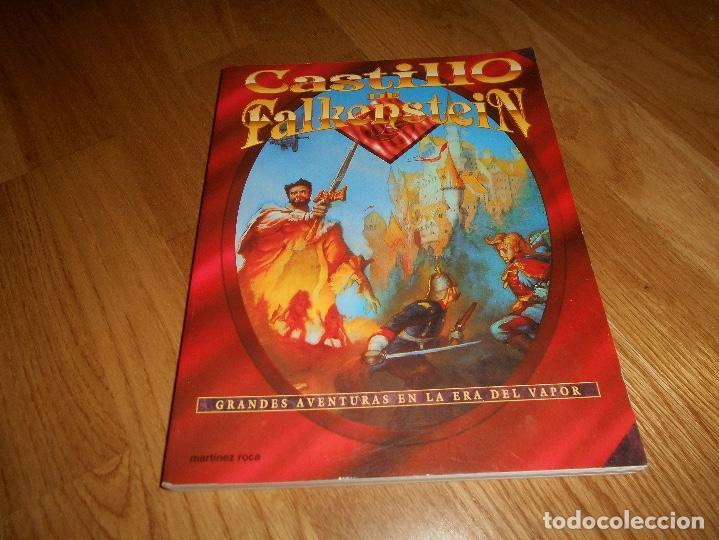 LIBRO ROL EL CASTILLO DE FALKENSTEIN EN LA ERA DEL VAPOR 1994 MARTINEZ ROCA RAREZA BUEN ESTADO (Juguetes - Rol y Estrategia - Juegos de Rol)