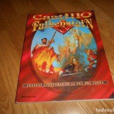 Juegos Antiguos: LIBRO ROL EL CASTILLO DE FALKENSTEIN EN LA ERA DEL VAPOR 1994 MARTINEZ ROCA RAREZA BUEN ESTADO. Lote 144636266