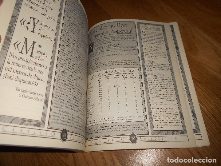Juegos Antiguos: LIBRO ROL EL CASTILLO DE FALKENSTEIN EN LA ERA DEL VAPOR 1994 MARTINEZ ROCA RAREZA BUEN ESTADO - Foto 3 - 144636266