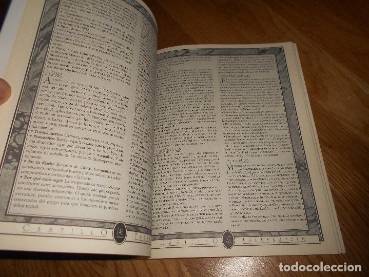 Juegos Antiguos: LIBRO ROL EL CASTILLO DE FALKENSTEIN EN LA ERA DEL VAPOR 1994 MARTINEZ ROCA RAREZA BUEN ESTADO - Foto 4 - 144636266