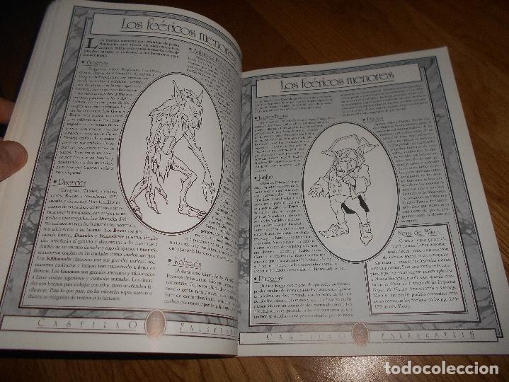 Juegos Antiguos: LIBRO ROL EL CASTILLO DE FALKENSTEIN EN LA ERA DEL VAPOR 1994 MARTINEZ ROCA RAREZA BUEN ESTADO - Foto 6 - 144636266