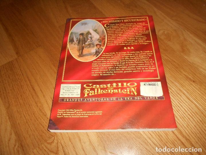 Juegos Antiguos: LIBRO ROL EL CASTILLO DE FALKENSTEIN EN LA ERA DEL VAPOR 1994 MARTINEZ ROCA RAREZA BUEN ESTADO - Foto 8 - 144636266
