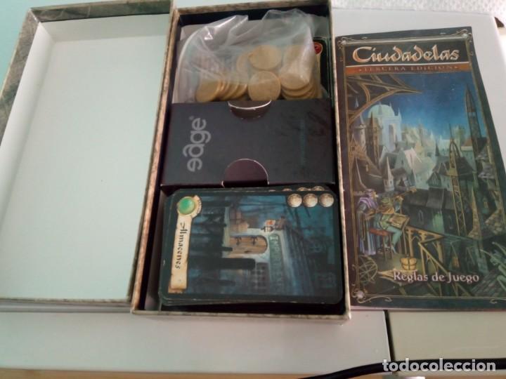 Juegos Antiguos: Juego de rol ciudadelas tercera edicion edge - Foto 3 - 151786689