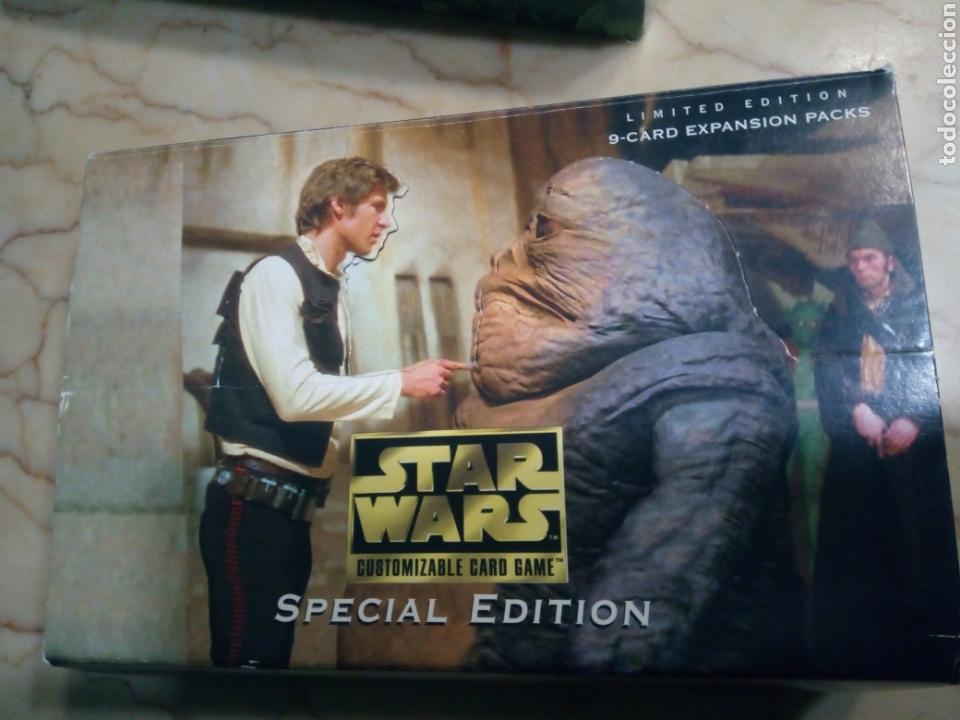 Juegos Antiguos: Star wars limited edition customizable card game - Foto 6 - 144738816