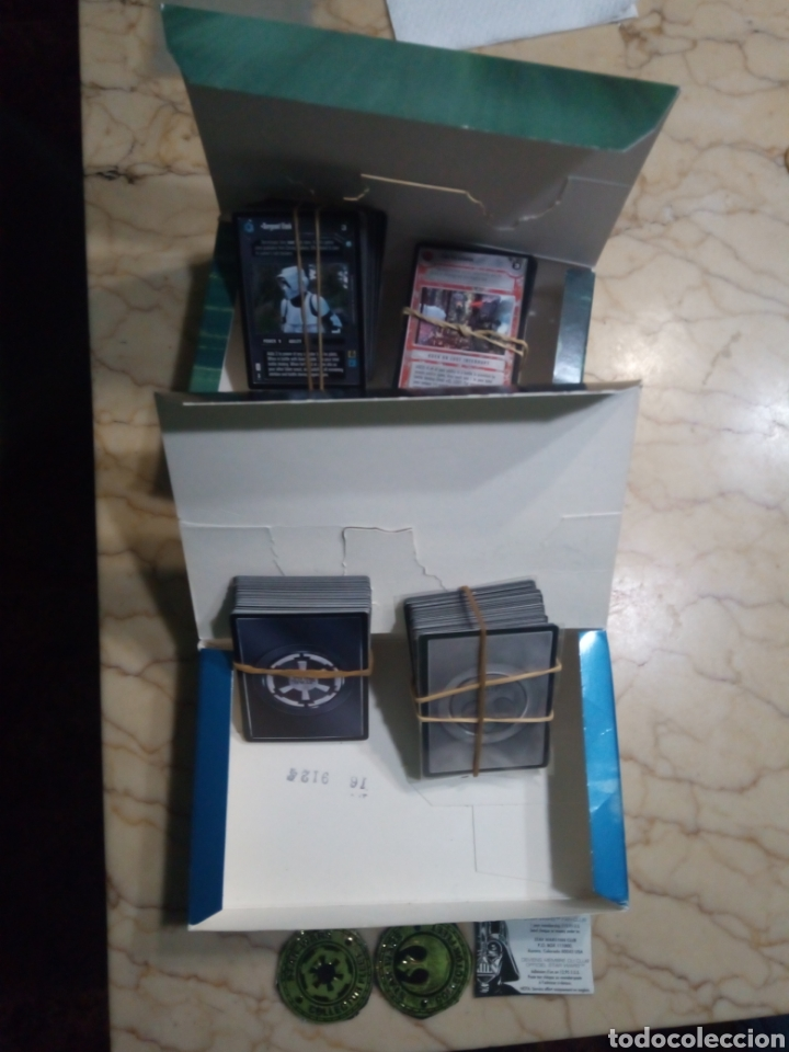 Juegos Antiguos: Star wars limited edition customizable card game - Foto 2 - 144738816