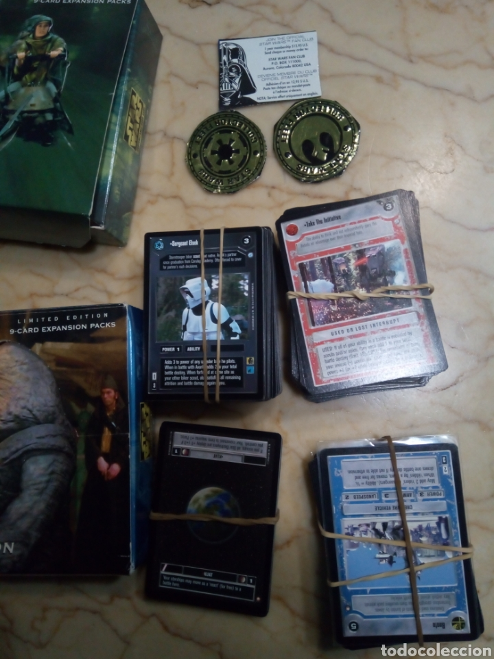 Juegos Antiguos: Star wars limited edition customizable card game - Foto 4 - 144738816