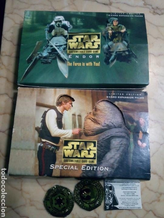 Juegos Antiguos: Star wars limited edition customizable card game - Foto 1 - 144738816