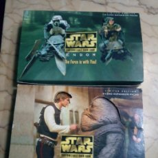 Juegos Antiguos: STAR WARS LIMITED EDITION CUSTOMIZABLE CARD GAME. Lote 144738816