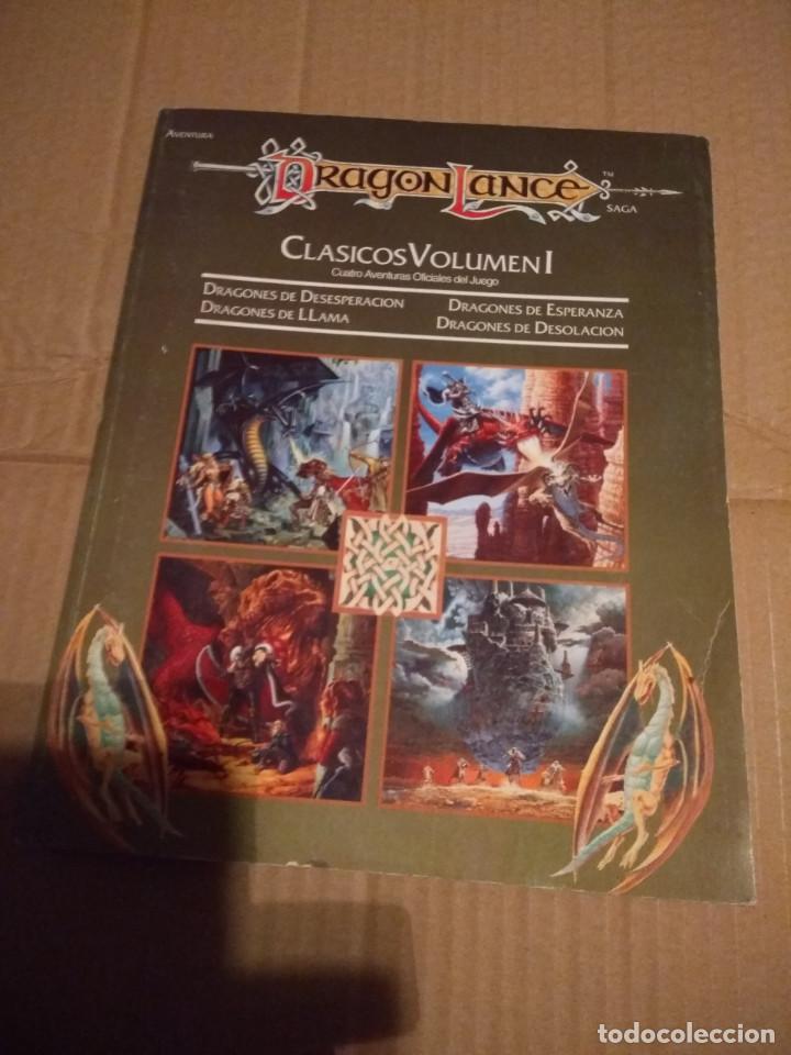 DRAGON LANCE : CLASICOS VOLUMEN 1 ( CONTIENE MAPA DE PARAMOS + MAPA DRAGON LANCE (Juguetes - Rol y Estrategia - Juegos de Rol)