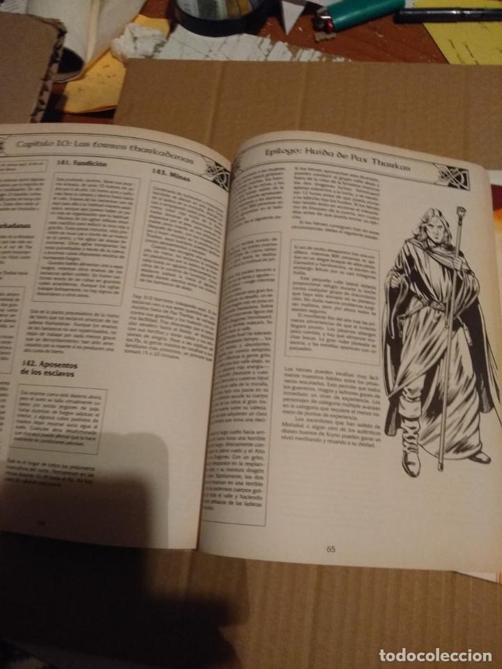 Juegos Antiguos: DRAGON LANCE : CLASICOS VOLUMEN 1 ( CONTIENE MAPA DE PARAMOS + MAPA DRAGON LANCE - Foto 2 - 145333962
