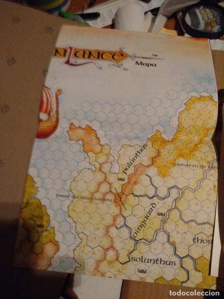 Juegos Antiguos: DRAGON LANCE : CLASICOS VOLUMEN 1 ( CONTIENE MAPA DE PARAMOS + MAPA DRAGON LANCE - Foto 4 - 145333962