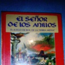 Juegos Antiguos: EL SEÑOR DE LOS ANILLOS BASICO EL JUEGO DE ROL DE LA TIERRA MEDIA 1A EDICION. Lote 146318038