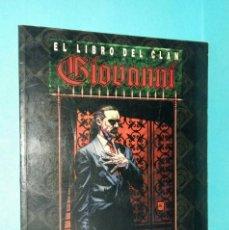 Juegos Antiguos: EL LIBRO DEL CLAN GIOVANNI. LA MASCARADA. Lote 146351358
