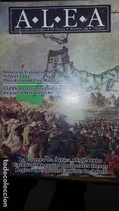 WARGAME REVISTA ALEA 28. LA GUERRA DE AFRICA (Juguetes - Rol y Estrategia - Otros)