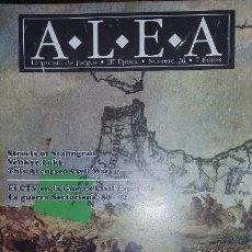 Juegos Antiguos: WARGAME REVISTA ALEA 28. LA GUERRA DE AFRICA. Lote 146392846