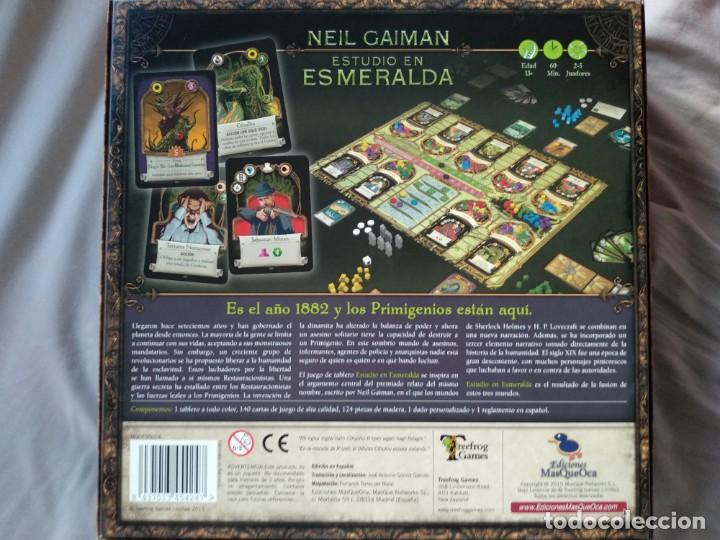 Juegos Antiguos: ESTUDIO EN ESMERALDA - Foto 2 - 146744010