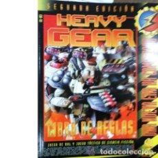 Jeux Anciens: HEAVY GEAR. LIBRO DE REGLAS. SEGUNDA EDICIÓN. UNA NUEVA ERA HA COMENZADO. Lote 147226486