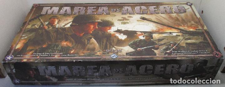 JUEGO DE MESA MAREA DE ACERO TIN OF IRON - EDGE 2004,WWII SEGUNDA GUERRA MUNDIAL,ESTRATEGIA WARGAME (Juguetes - Rol y Estrategia - Otros)