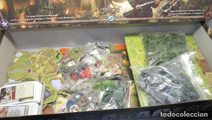 Juegos Antiguos: Juego de mesa MAREA DE ACERO TIN OF IRON - Edge 2004,WWII segunda guerra mundial,estrategia wargame - Foto 3 - 147405886