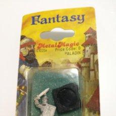 Juegos Antiguos: PALADIN METAL MAGIC FANTASY MINIATURE . Lote 148107786