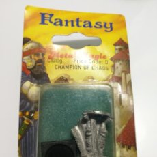 Juegos Antiguos: CHAMPION OF CHAOS METAL MAGIC FANTASY MINIATURE . Lote 148108482