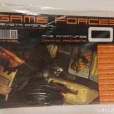 Juegos Antiguos: REVISTA MINIATURAS GAME FORCES 01. Lote 148206890