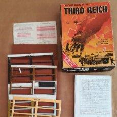 Juegos Antiguos: JUEGO DE ESTRATEGIA THIRD REICH DE AVALON HILL. Lote 148488338