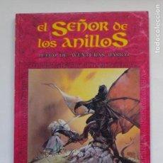 Juegos Antiguos: EL SEÑOR DE LOS ANILLOS - JUEGO DE AVENTURAS BASICO - TIERRA MEDIA - JOC INTERNACIONAL - 1° ED.1992. Lote 149450586