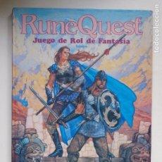 Juegos Antiguos: RUNEQUEST - JUEGO DE ROL DE FANTASIA - BASICO - JOC INTERNACIONAL - REIMP.1989. Lote 149459114