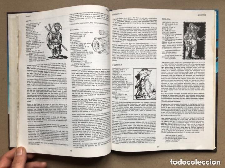 Juegos Antiguos: DUNGEON MASTERS GUIDE Y FIEND FOLIO. ADVANCED D & D AVENTURE GAMES. TSR GAMES. - Foto 16 - 150251266