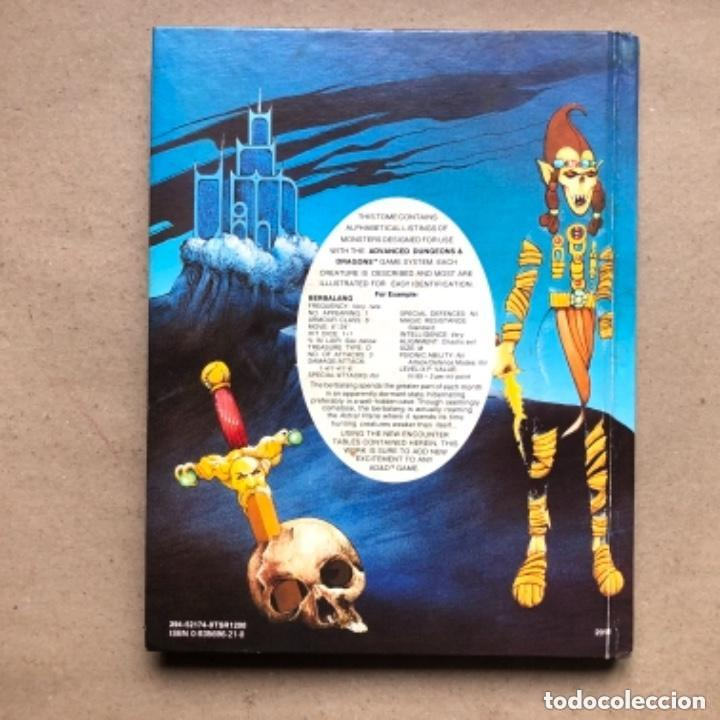 Juegos Antiguos: DUNGEON MASTERS GUIDE Y FIEND FOLIO. ADVANCED D & D AVENTURE GAMES. TSR GAMES. - Foto 19 - 150251266