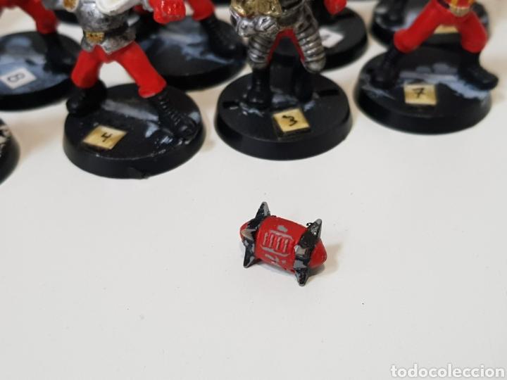 Juegos Antiguos: Blood Bowl - EQUIPO HUMANO - 14 MINIATURAS DE PLASTICO + BALÓN (DESCATALOGADOS) AÑOS 90 - Foto 6 - 150371513