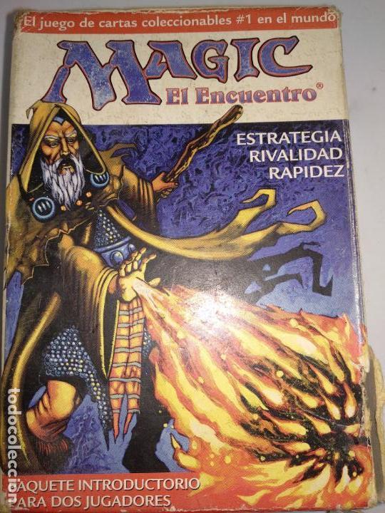 MAGIC EL ENCUENTRO.EL JUEGO DE CARTAS COLECCIONABLES Nº1 EN EL MUNDO.WIZARDS 1996. (Juguetes - Rol y Estrategia - Otros)