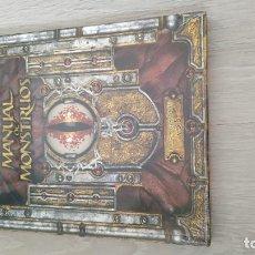Juegos Antiguos: DUNGEONS AND DRAGONS 3.5 - MANUAL DE MONSTRUOS. Lote 151403146