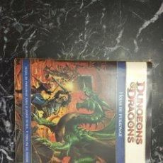 Juegos Antiguos: DUNGEONS & DRAGONS 4.0 HOJAS DE PERSONAJE (DEVIR DD41003). Lote 151487530