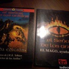 Juegos Antiguos: LOTE: EL SEÑOR DE LOS ANILLOS, SEGUNDA EDICIÓN; EL SEÑOR DE LOS ANILLOS, EL MAGO, AYUDA DEL ISTAR. Lote 151549505